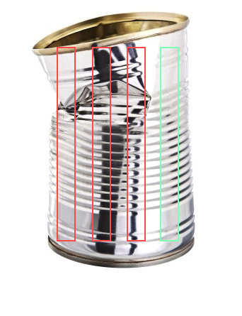Dented Can Solution
