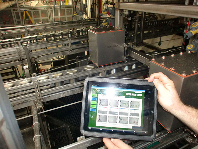 Variety Code OCV Inspection - I Touch Solution