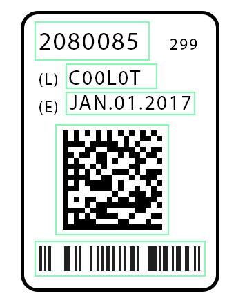Barcode Lot Code Inspection