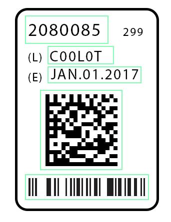 Date & Lot code verification